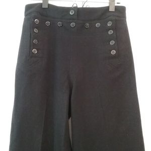 Other - Vintage 1940's Navy Wool Pants - 28 waist